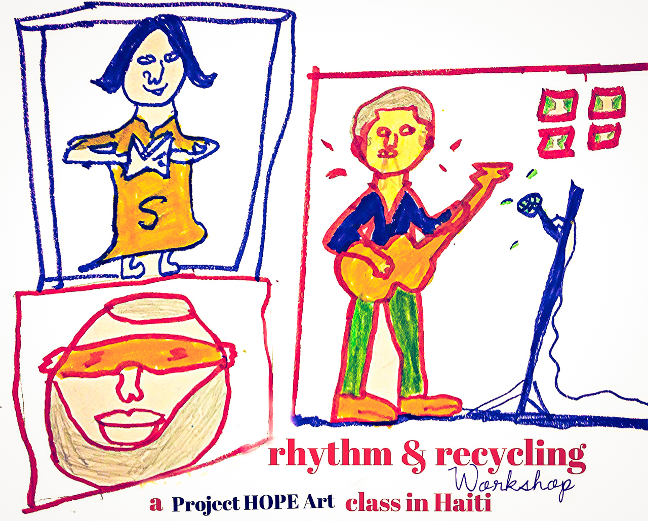 Project HOPE Art RHYTHMRECYCLING